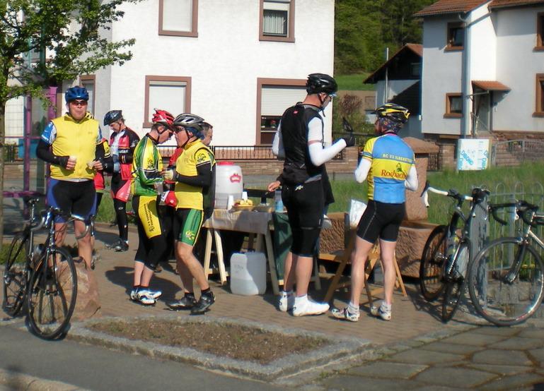 Verpflegungspunkt K1 Gadernheim